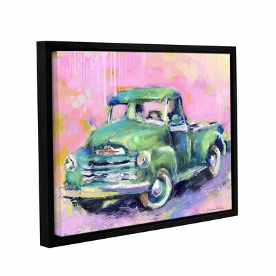 "Art Wall Vintage Chevy Truck by Svetlana Novikova Gallery-Wrapped Floater-Framed Canvas - Size: 14"" H x 18"" W x 2"" D at Sears.com"