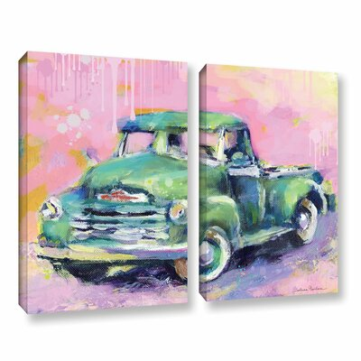 "Art Wall Vintage Chevy Truck by Svetlana Novikova 2 Piece Gallery-Wrapped Canvas Set - Size: 18"" H x 24"" W x 2"" D at Sears.com"
