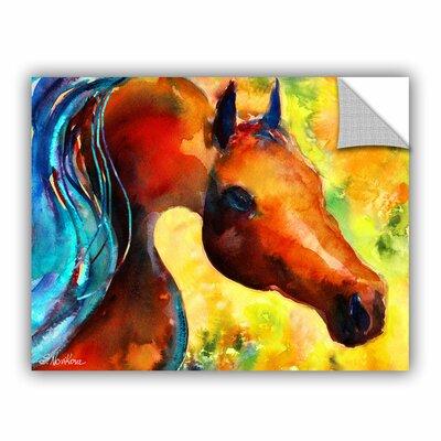 Fantasy Arabian Horse by Svetlana Novikova Art Appeelz Removable Wall Mural Size: 36