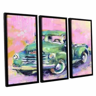 Art Wall Vintage Chevy Truck by Svetlana Novikova 3 Piece Floater Framed Canvas Set at Sears.com