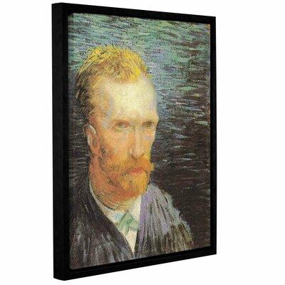 Self Portrait (Summer 1887) by Vincent Van Gogh Framed Painting Print Size: 18
