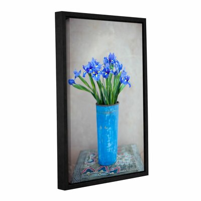 "Iris Flowers by Elena Ray Framed Photographic Print on Wrapped Canvas Size: 18"" H x 12"" W 0ray020a1218f"