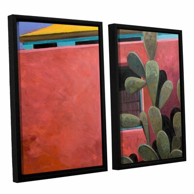 Adobe Colour by Rick Kersten 2 Piece Framed Painting Print on Canvas Set 0ker070b2432f