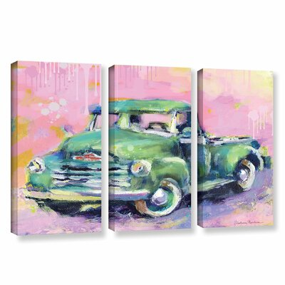 Art Wall Vintage Chevy Truck by Svetlana Novikova 3 Piece Gallery-Wrapped Canvas Set at Sears.com