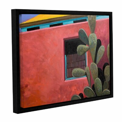 Adobe Colour by Rick Kersten Framed Painting Print on Wrapped Canvas 0ker070a0810f
