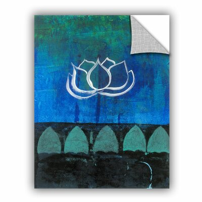 ArtWall Lotus Blossom by Elena Ray Art Appeelz Removable Wall Mural 0ray006a1418p