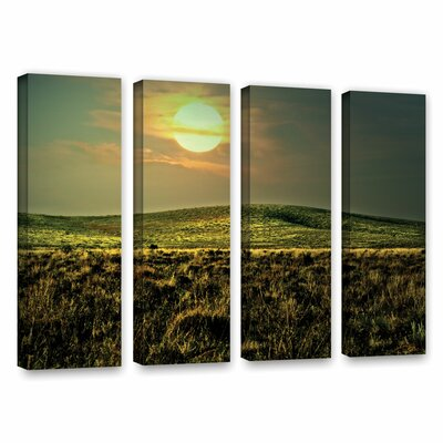 Corner Pocket by Mark Ross 4 Piece Photographic Print on Gallery Wrapped Canvas Set Size: 24