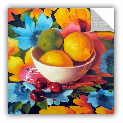 ArtApeelz Cherry Surprise by Marina Petro Painting Print on Canvas Size: 18