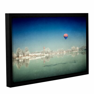 "'Winter Dream' by Dragos Dumitrascu Framed Photographic Print on Wrapped Canvas Size: 12"" H x 18"" W 0dum035a1218f"