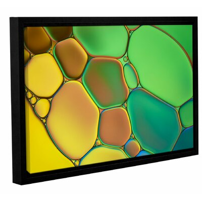 'Stained Glass III' by Cora Niele Framed Graphic Art on Wrapped Canvas 0nie074a0812f