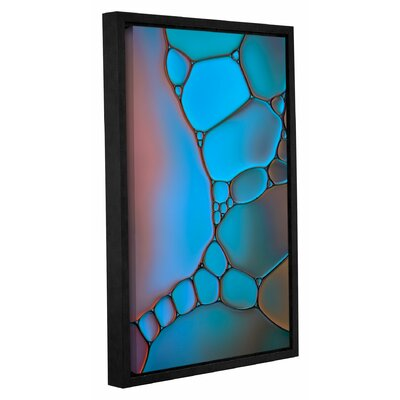 'Stained Glass II' by Cora Niele Framed Graphic Art on Wrapped Canvas 0nie073a3248f
