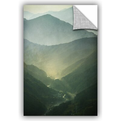 'Sunrise Valley' by Dragos Dumitrascu Photographic Print on Canvas 0dum070a1218p