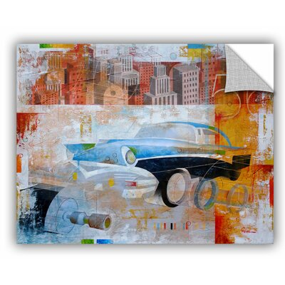 "'56' by Greg Simanson Graphic Art Size: 36"" H x 48"" W x 0.1"" D 0sim002a3648p"