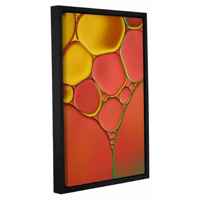 'Stained Glass II' by Cora Niele Framed Graphic Art on Wrapped Canvas 0nie072a0812f