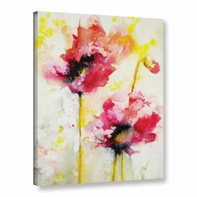 Spring Blossoms by Karin Johannesson Painting Print on Gallery-Wrapped Canvas Size: 24
