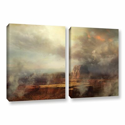 Before The Rain by Philip Straub 2 Piece Graphic Art Gallery-Wrapped Canvas Set Size: 32