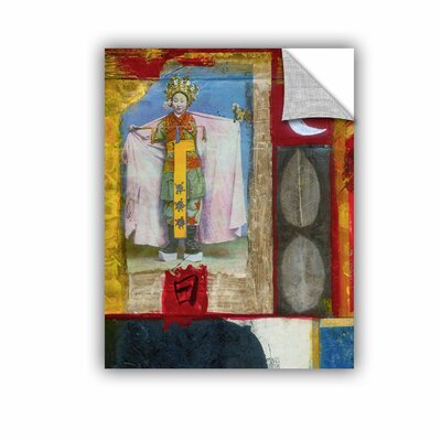 "Chinese Moon Queen by Elena Ray Removable Painting Print Size: 32"" H x 24"" W 0ray065a2432p"