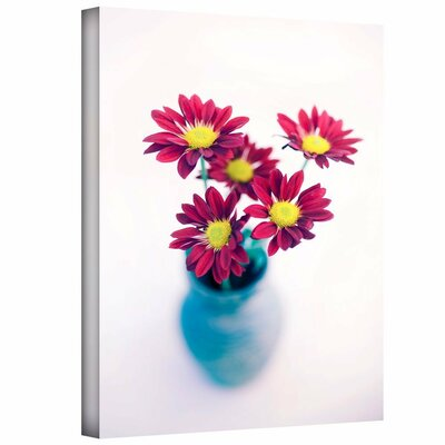 Modern Flowers by Elena Ray Photographic Print on Wrapped Canvas 0ray082a0812w