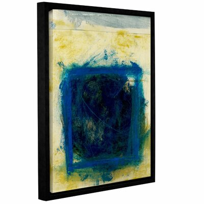 Blue Squares by Elena Ray Framed Painting Print on Wrapped Canvas 0ray059a0810f