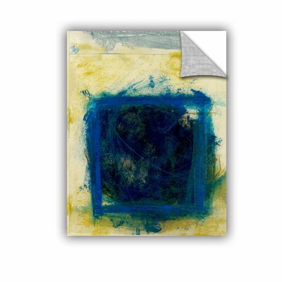 Blue Squares by Elena Ray Removable Painting Print 0ray059a1418p