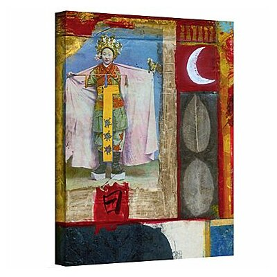 """Chinese Moon Queen by Elena Ray Painting Print on Wrapped Canvas Size: 18"""" H x 14"""" W 0ray065a1418w"""