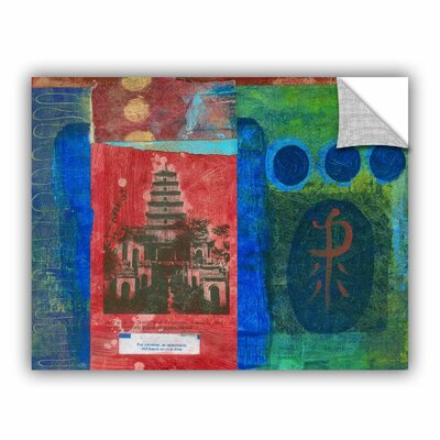 Good Fortune Pagoda by Elena Ray Painting Print 0ray071a2432p