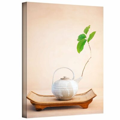 Zen New Leaf by Elena Ray Photographic Print on Gallery-Wrapped Canvas Size: 48