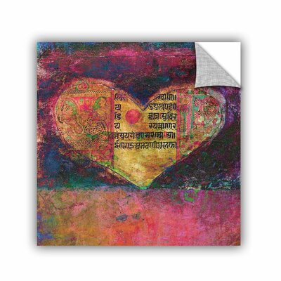 Tantra Heart by Elena Ray Removable Painting Print 0ray097a1414p