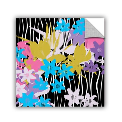 "Blossoming Garden VIII by Irena Orlov Wall Mural Size: 14"" H x 14"" W x 0.1"" D 6orl107a1414p"