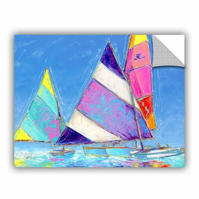 Saucy Sails Wall Mural Size: 18