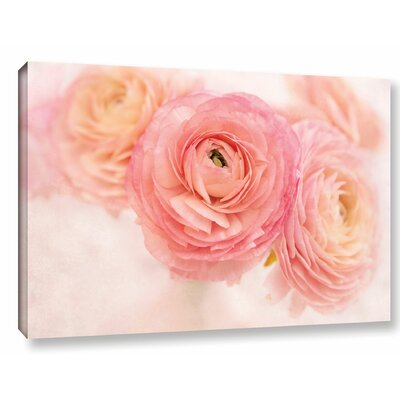 Stylish Flowers Photographic Print on Wrapped Canvas