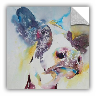 Cow 23 Wall Mural Size: 18