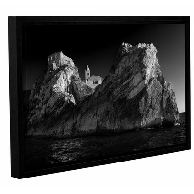 'Dark Side of Portovenere' by Paolo Lazzarotti Framed Photographic Print Size: 32