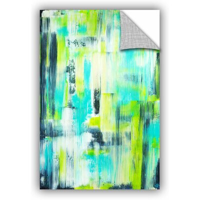 'Abstract 1' by Sue Hall Painting Print Size: 24