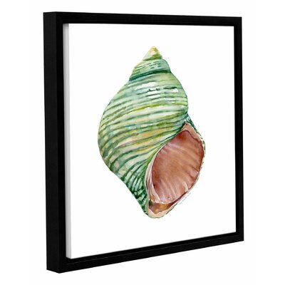 'Green Turbo' by Amy Kirkpatrick Framed Painting Print Size: 36
