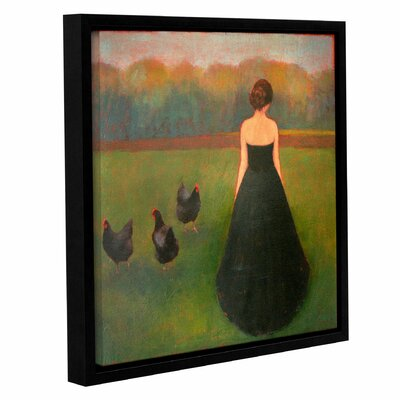 'Evening Wear' by Tracy Helgenson Framed Painting Print on Canvas Size: 14