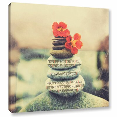 'Sea Stone Sutra' by Elena Ray Photographic Print on Wrapped Canvas 0ray187a1010w