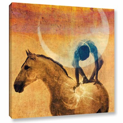 'Cosmic Cycles' by Elena Ray Graphic Art on Wrapped Canvas 0ray182a1010w