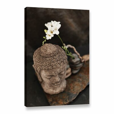 'Buddha Elements' by Elena Ray Photographic Print on Wrapped Canvas 0ray186a0812w