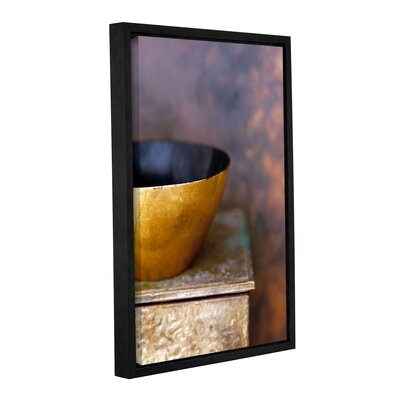 'Gold Bowl II' by Elena Ray Framed Photographic Print on Wrapped Canvas 0ray180a0812f