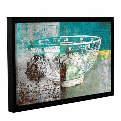 'Artful Bowl' by Elena Ray Framed Graphic Art on Wrapped Canvas 0ray192a1218f