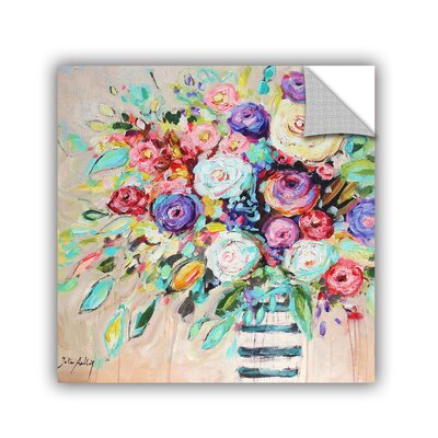 Jolina Anthony Vibrant Bouquet Wall Mural 0ant065a1414p