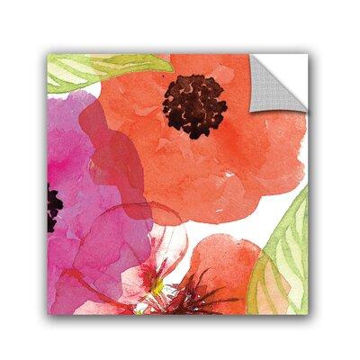 Tamela Apple Vibrant Floral IV Wall Mural 3app005a1010p
