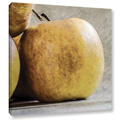 'An Apple A Day'  Painting Print On Wrapped Canvas Size: 10