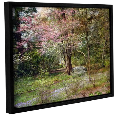'Spring' Framed Photographic Print On Wrppaed Canvas Size: 14