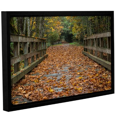 'Fall On The Goose Victoria'  Framed Photographic Print On Canvas Size: 12