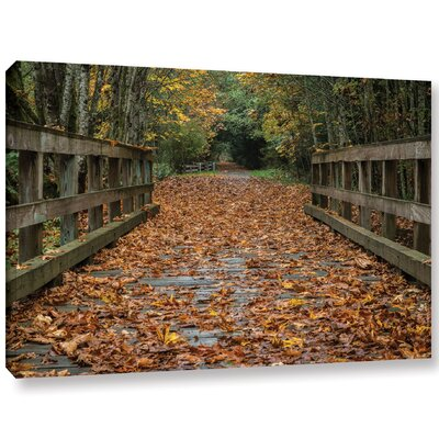 'Fall On The Goose Victoria'  Photographic Print On Wrapped Canvas Size: 12
