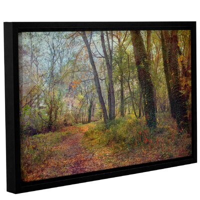 'Poetic Season'  Framed Photographic Print On Wrppaed Canvas Size: 12