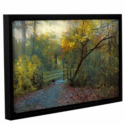 'Good Morning'  Framed Photographic Print On Wrppaed Canvas Size: 12