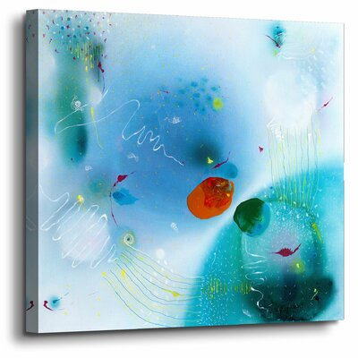 'Out There'  Painting Print On Wrapped Canvas Size: 10